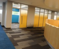 Second floor group study rooms