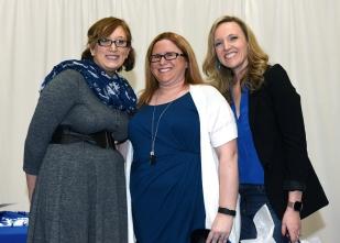 Wight received the Alumni Top Volunteer Award
