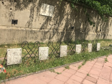 Memorial for the concentration camp victims killed in an escape attempt