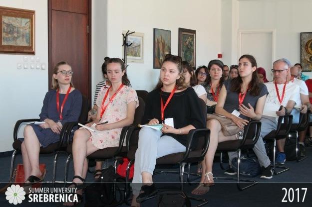 Summer University Srebrenica students