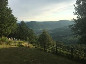 The Bosnian and Herzegovinan countryside