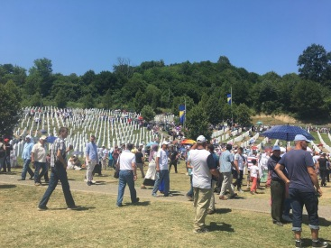 Memorial service and burial for the 72 victims identified this year