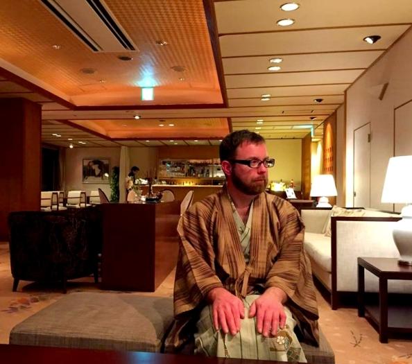 Curt in Yukata
