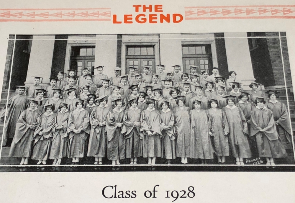 Class of 1928 photo