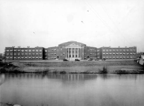 A view of North Side High School.